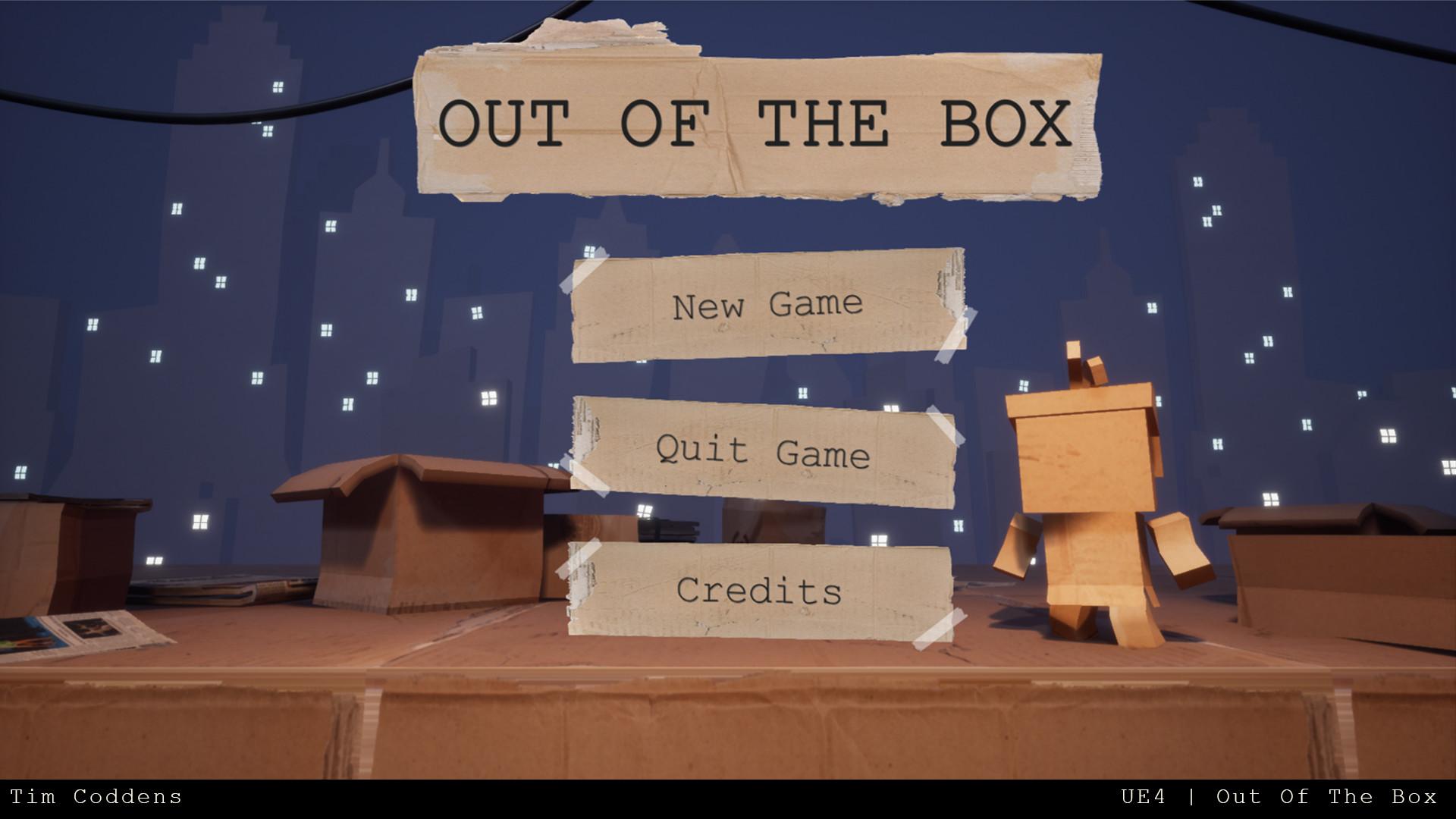 Tim coddens outofthebox 1