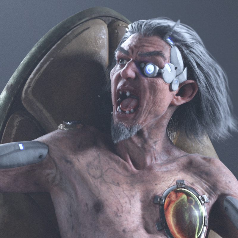 Beyond Human Challenge Submission : GRAMPS - Legendary Space Hacker