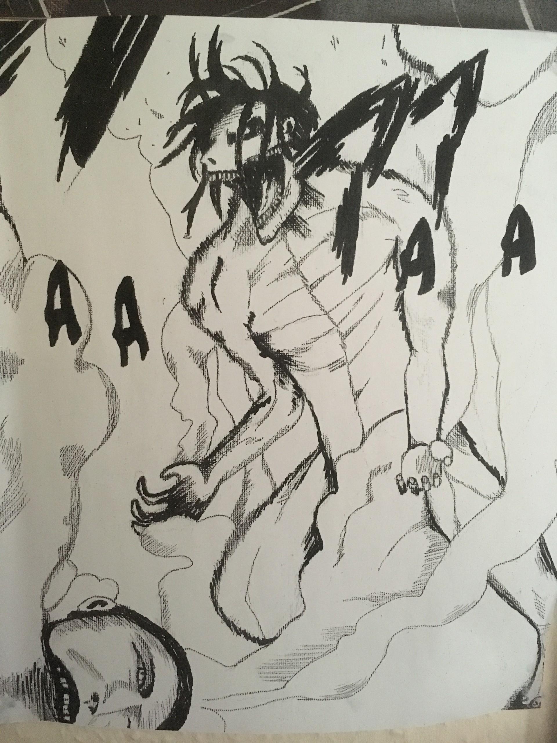 Artstation Eren Yeager Titan Form Polly Cotter