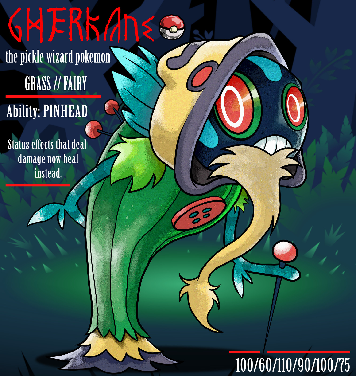 Gherkane appear to be stoic and wise yet are anything but. Often they are found shouting at their own reflections in water.