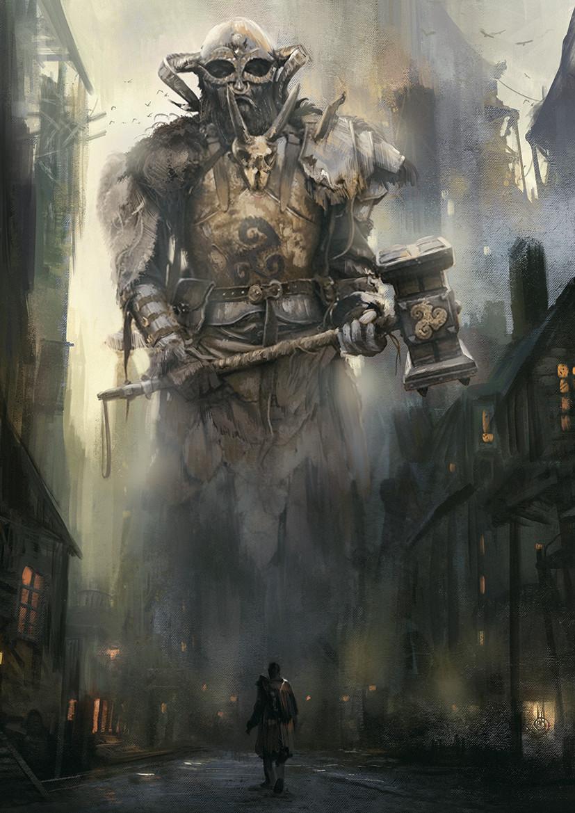 Murat gul giant guardian by muratgul