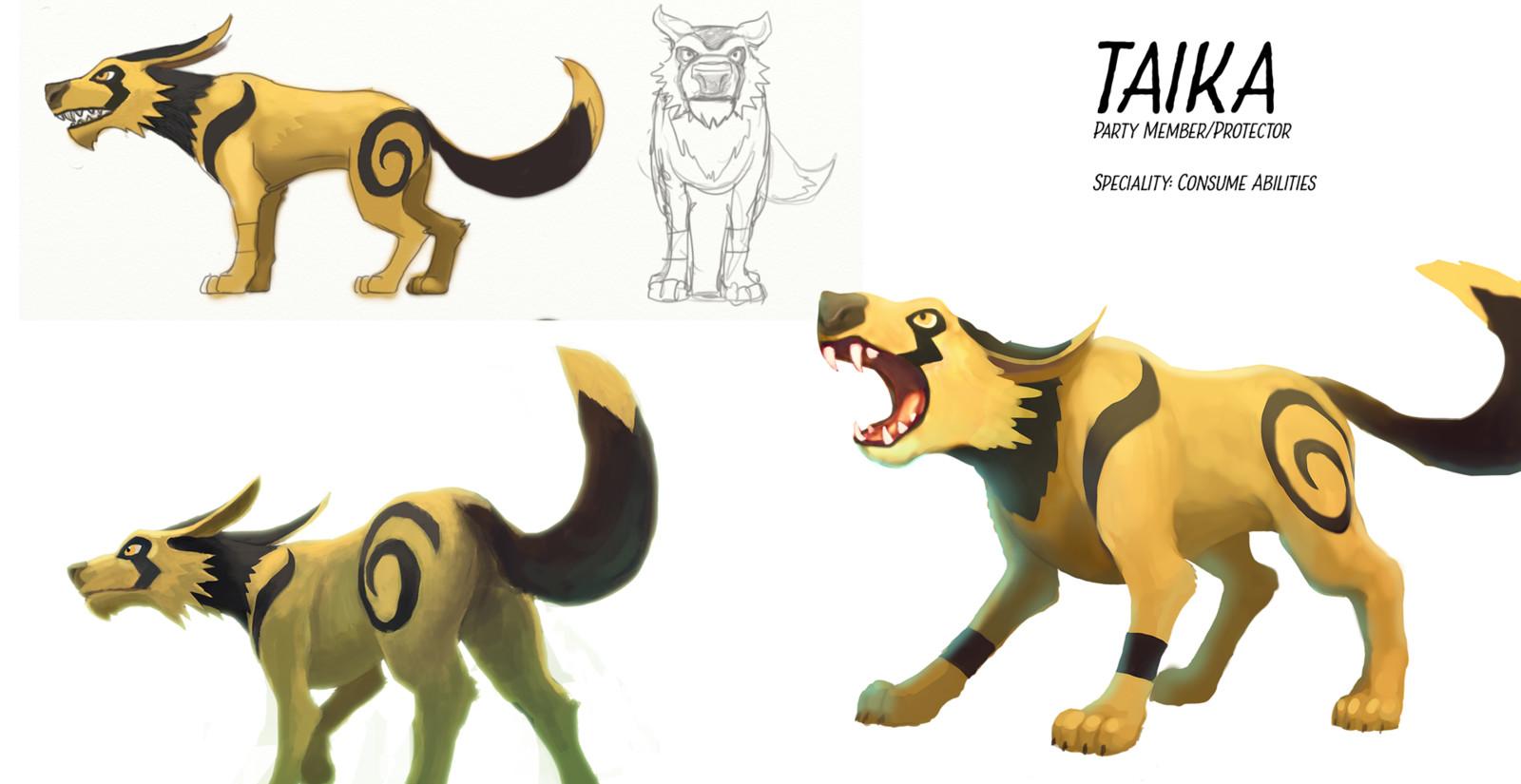 Taika character sheet.