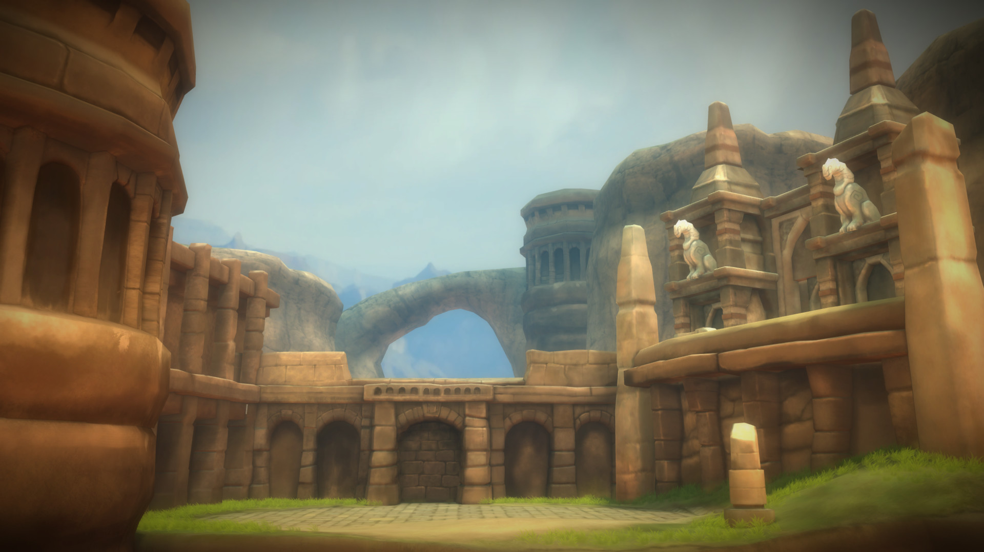 The first environment I did for Earthlock