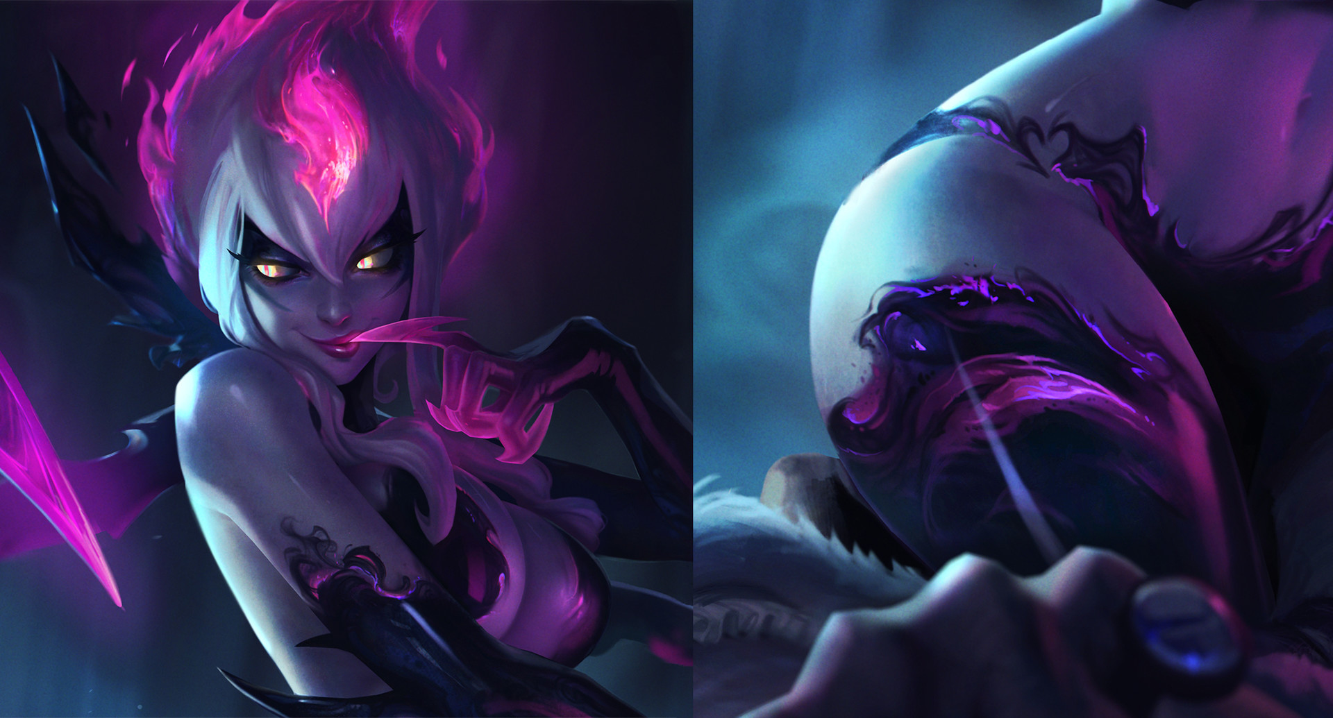 The Artist Behind The New Evelynn Splash Posted Other Ideas She Had