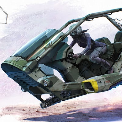 Dmitry popov sketch hoverbike3