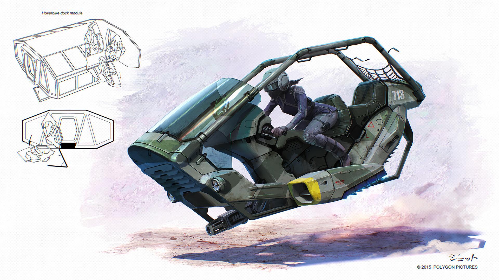 Dmitry popov sketch hoverbike3