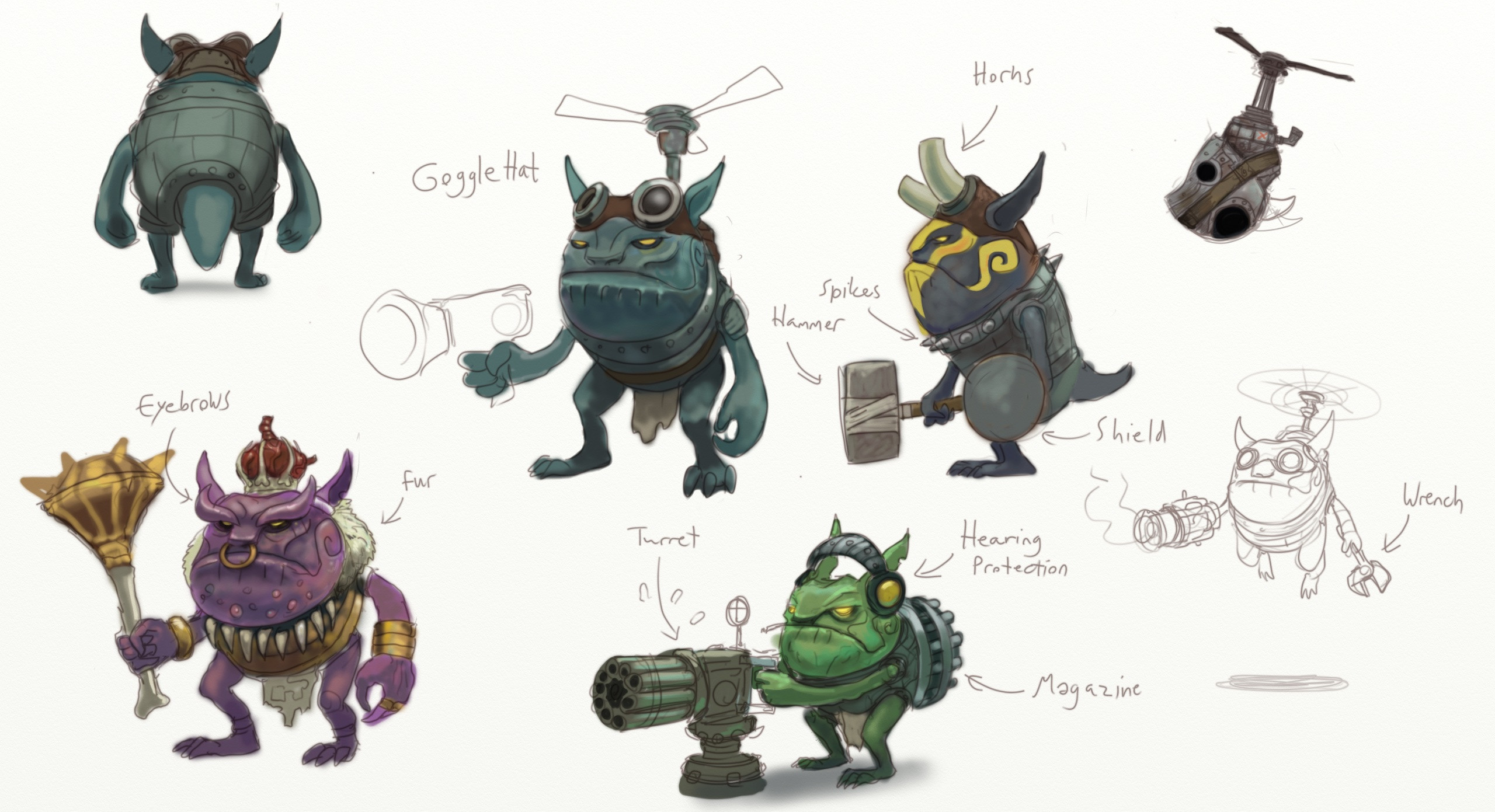 Every RPGs need their own signature goblins!