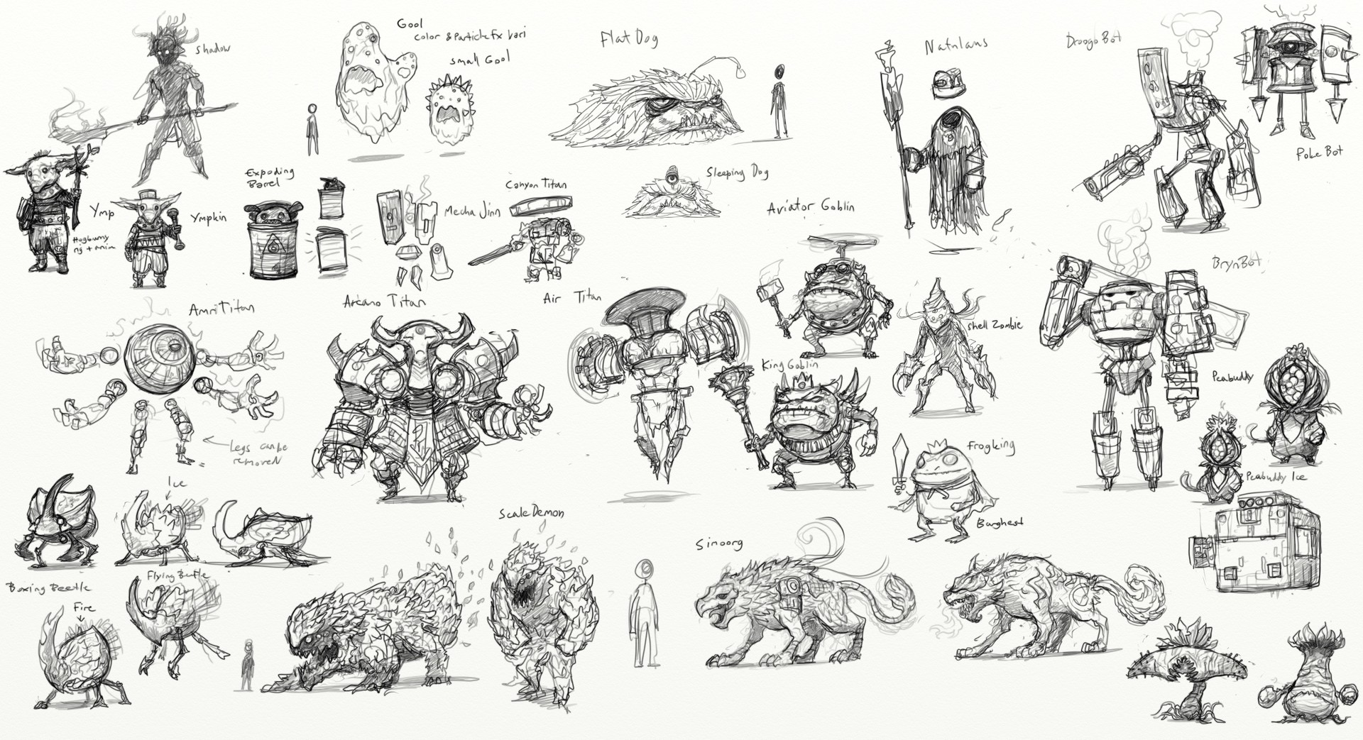 Frits olsen monstersketches01