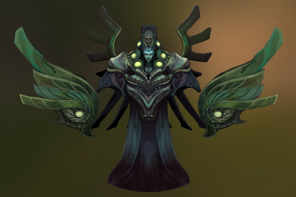 One of the more challenging bosses in the game. Valvur Ichabo had 3 different modes using his hovering wings.