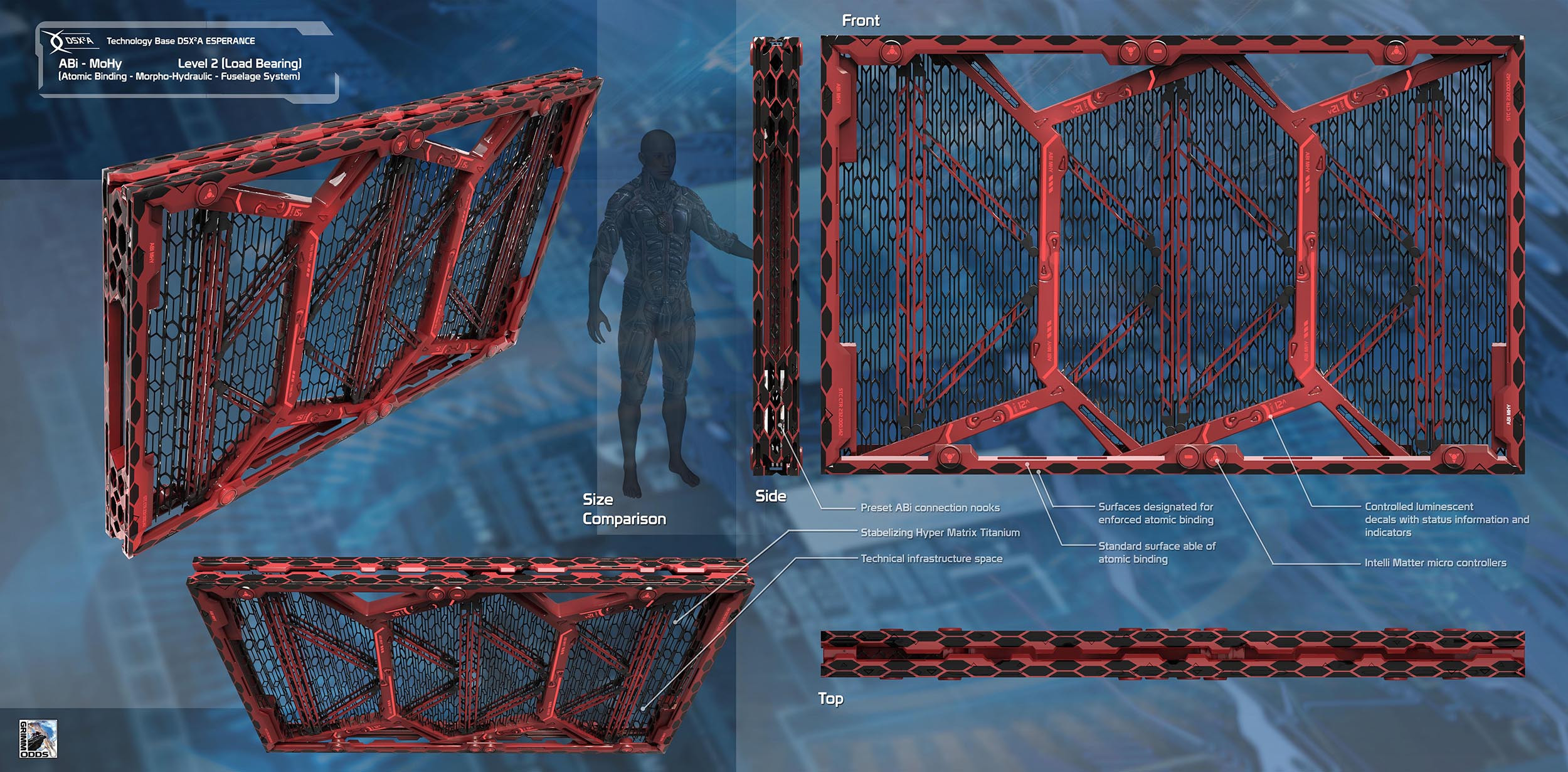 Grimm Odds - Structural Parts - Medium Wall Structure