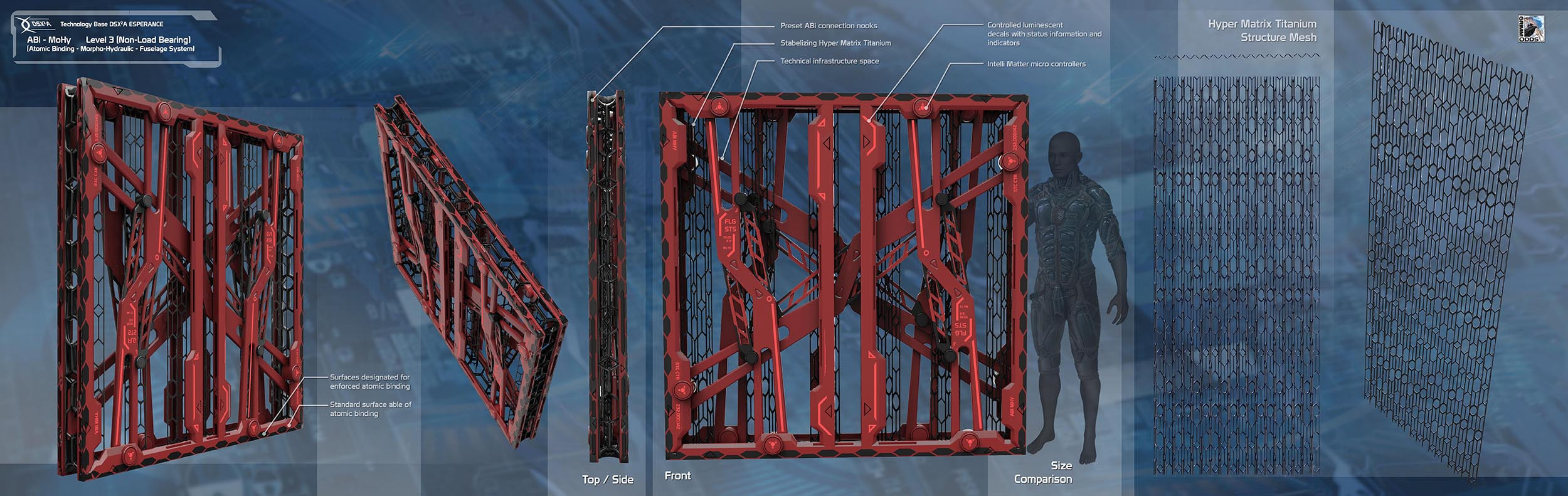Grimm Odds - Structural Parts - Light Wall Structure