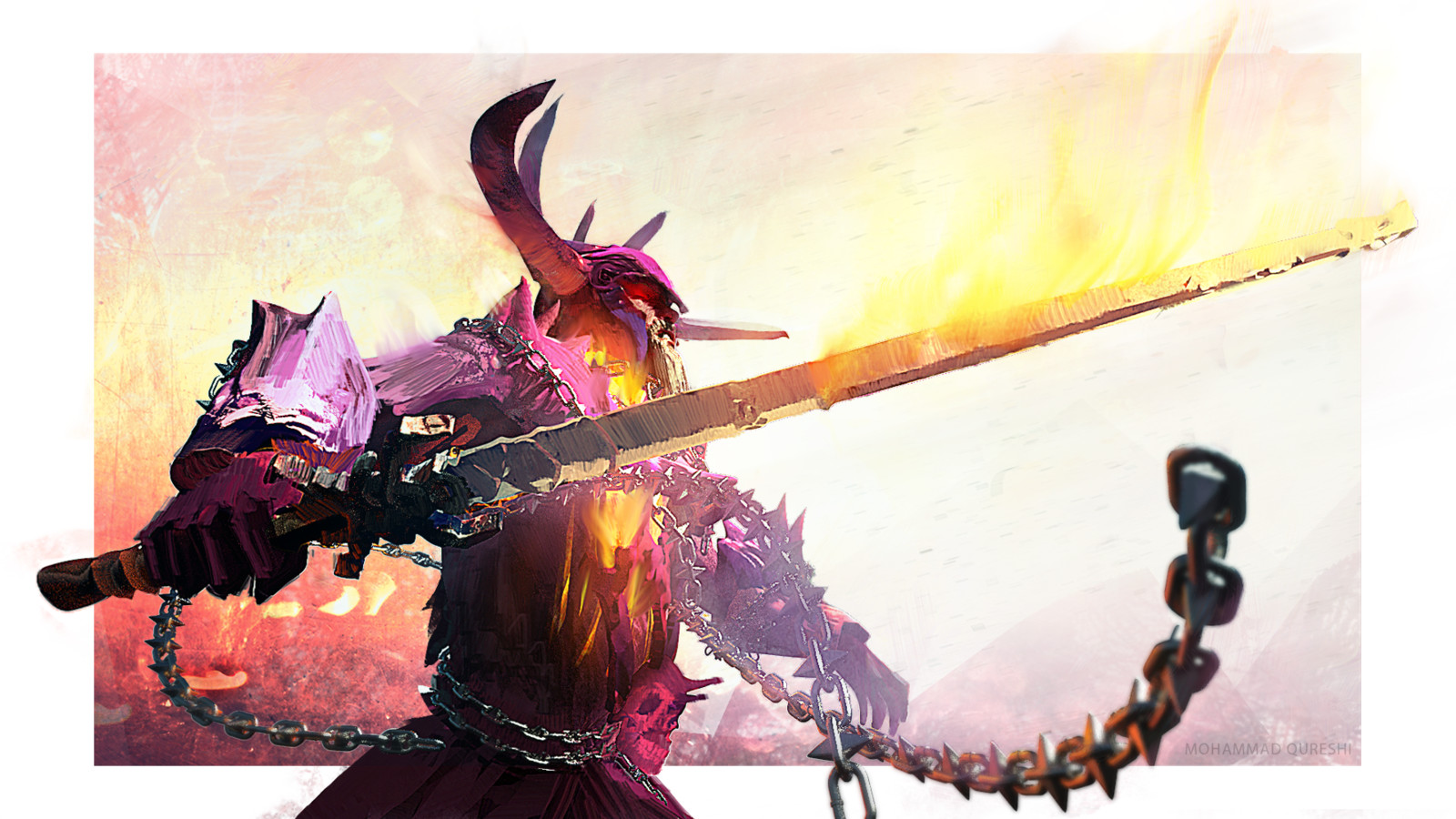 Guild Wars 2: Balthazar Fan Art