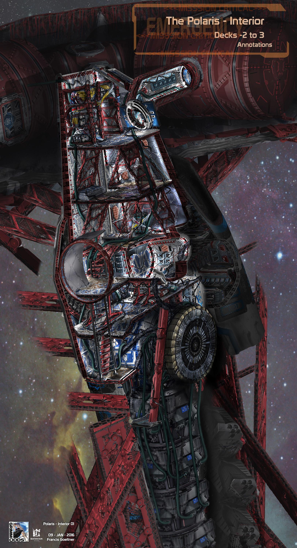 Grimm Odds - Improvised Junk Escape Spaceship - Interior