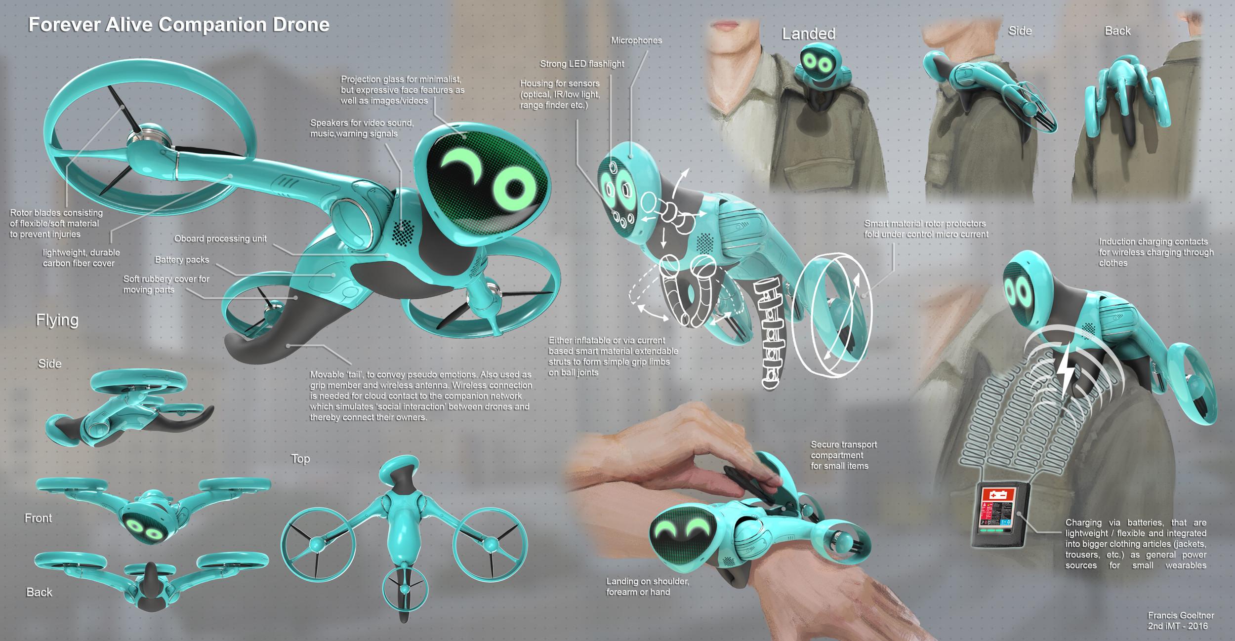 Imaginarium of Technology 04 - Companion Drone