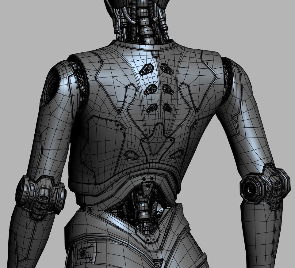 David letondor robotskin davidletondor v5 wireframe