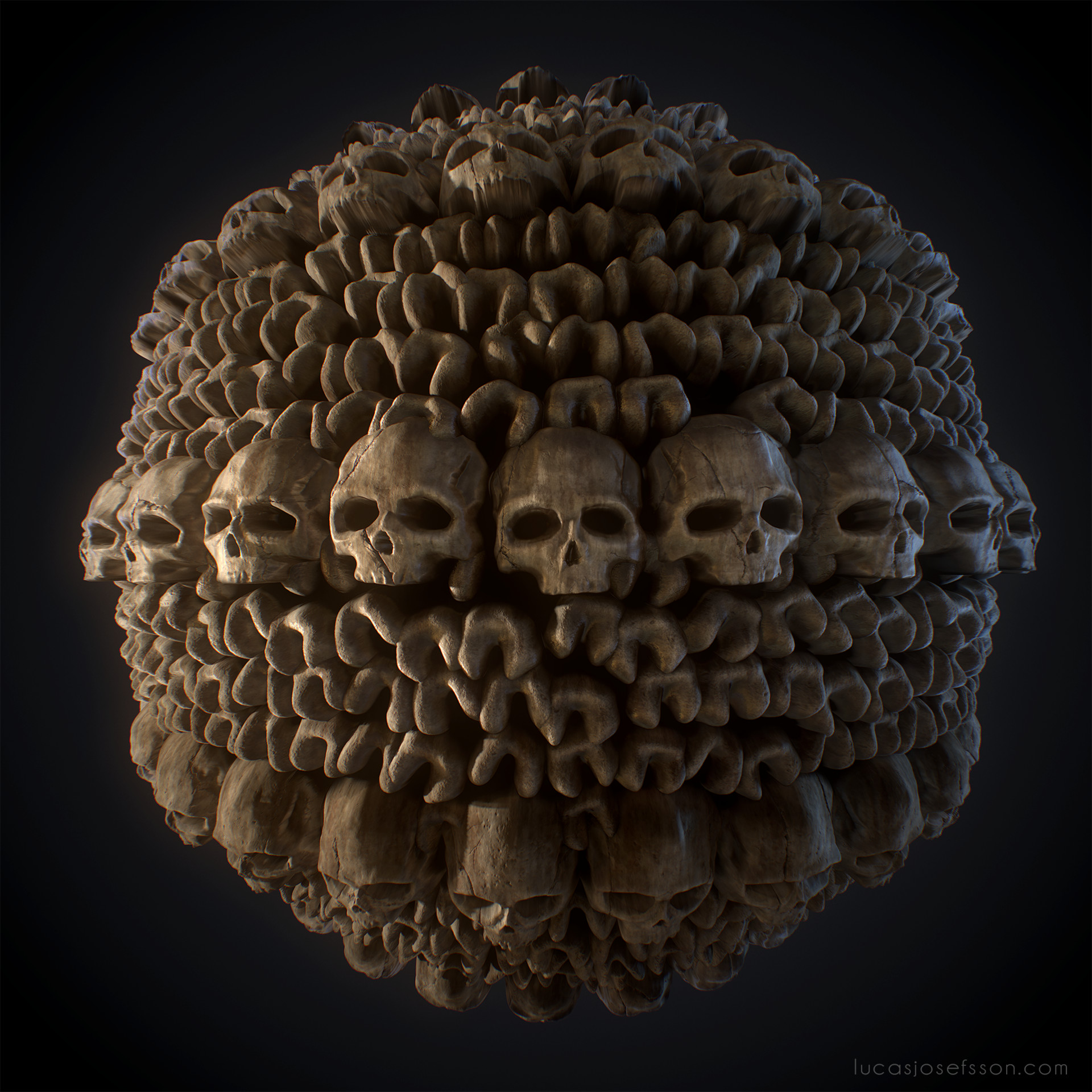 Lucas josefsson shader ball