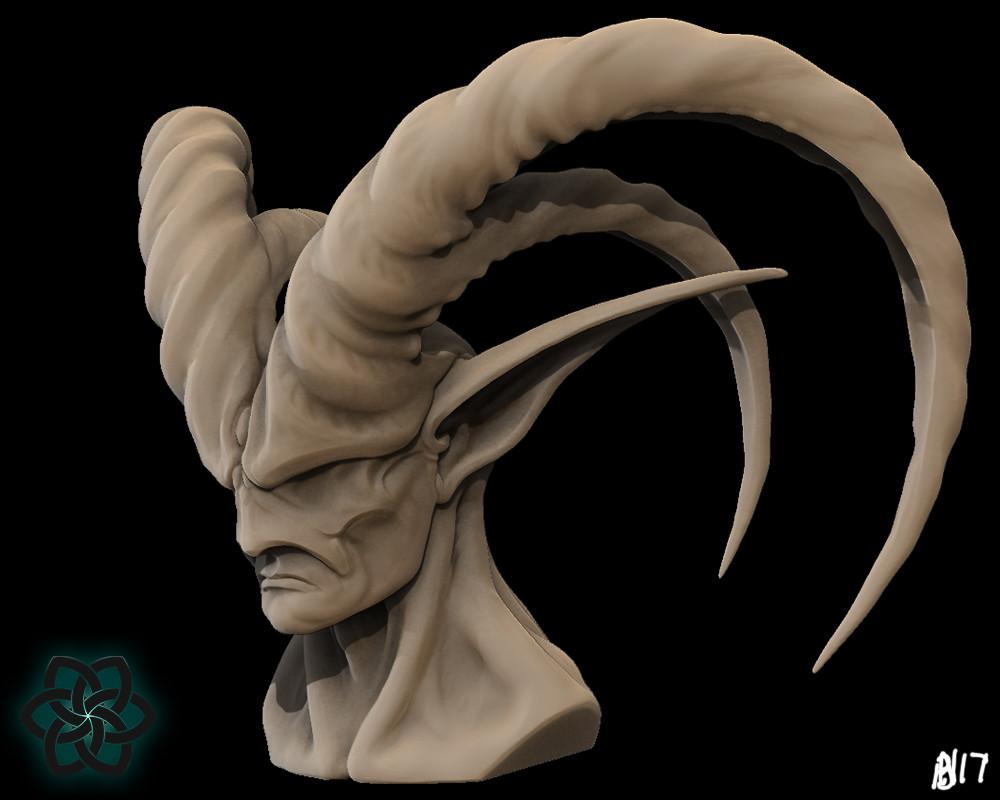Alsirer concept sculpt