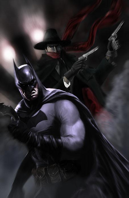Max moda art batman the shadow
