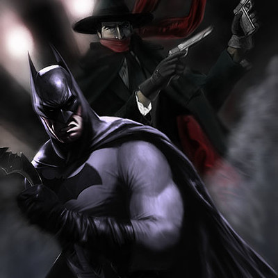 Max moda art batman the shadow