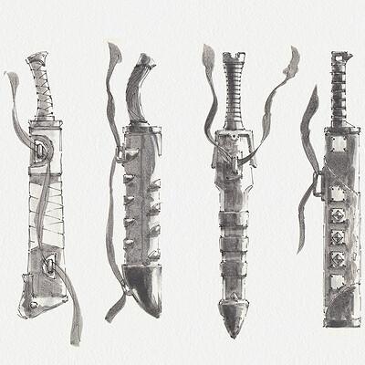 Erick altensleben short swords
