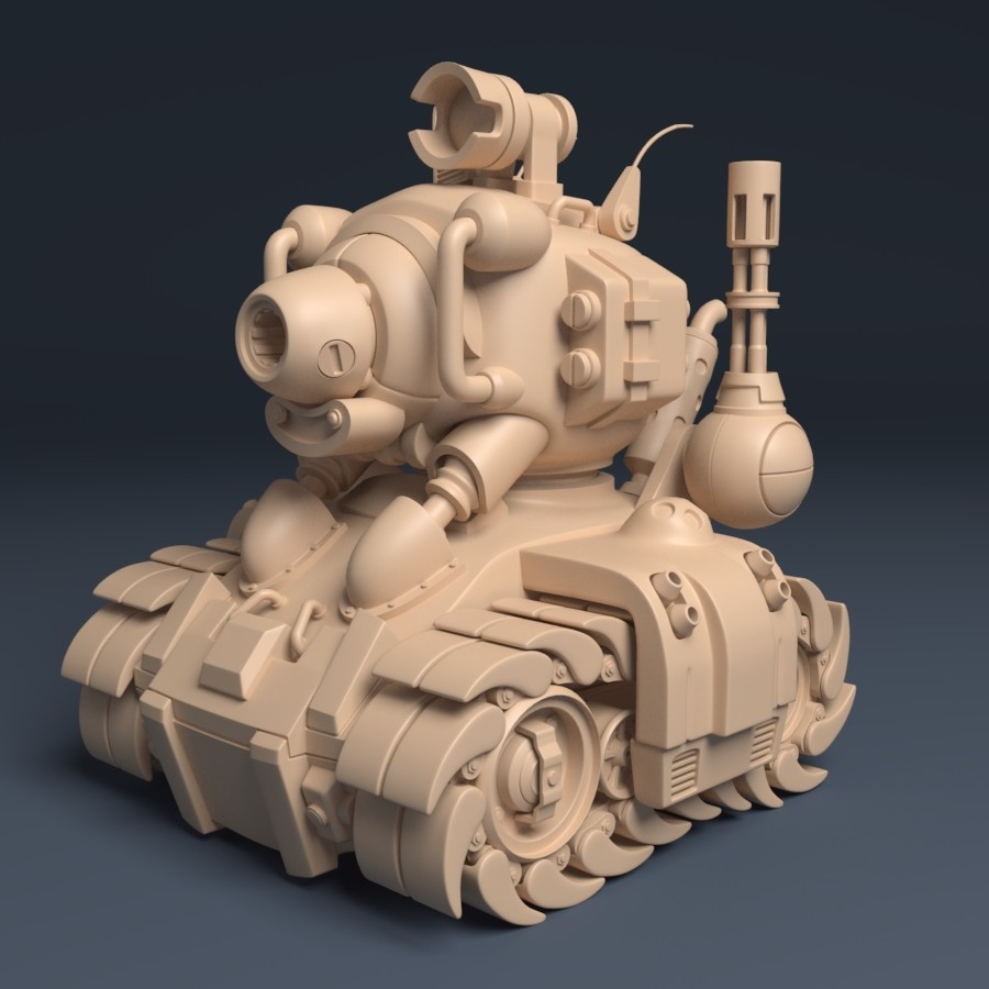 Metal Slug Tank - SV001 | Beauty