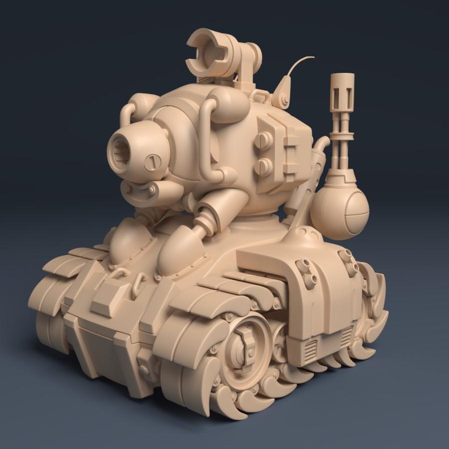 Metal Slug Tank - SV001 | Beauty