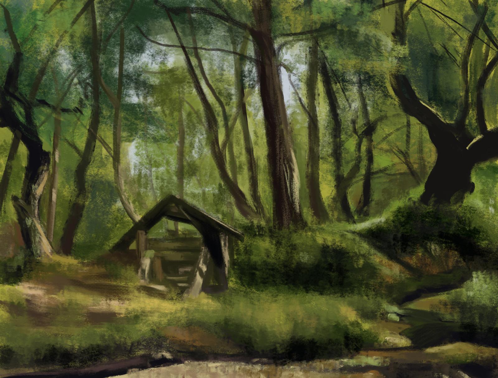 Ivan Shishkin: Sunny Day Merikyul - Study