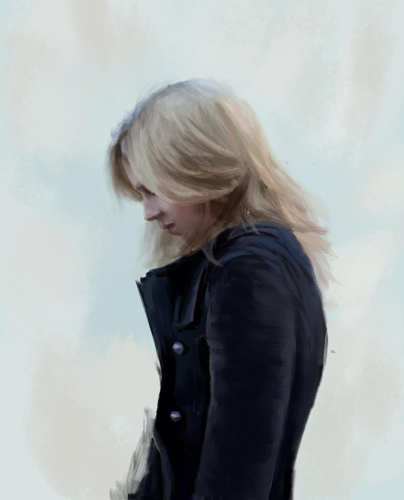 Jeremy Lipking: Chelsey - Study