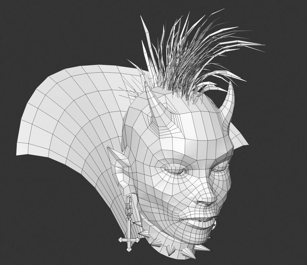 Dirk wachsmuth mybrana devilgirl hex wireframe 1000