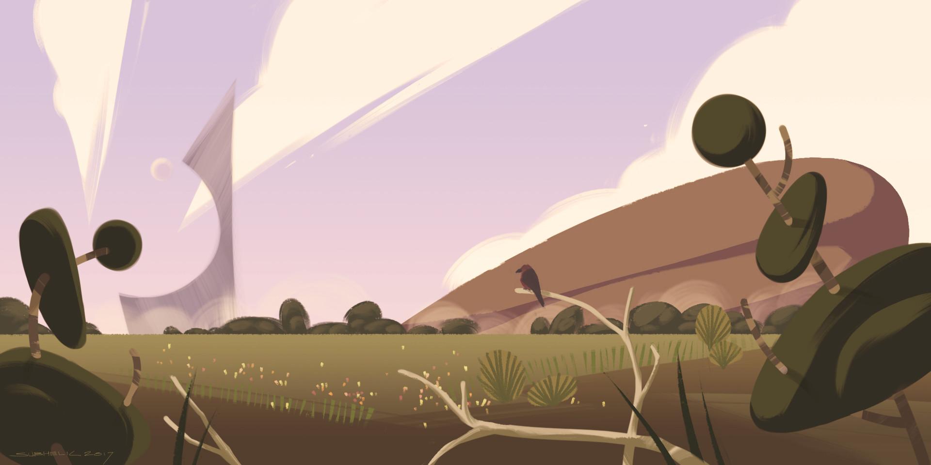 Subhelic strange field