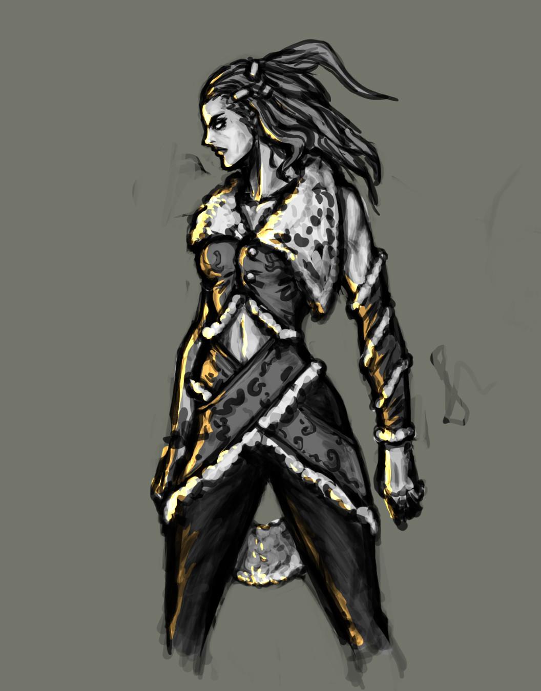 Kou dama viking woman