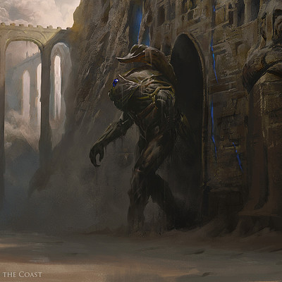Greg rutkowski the scorpion god