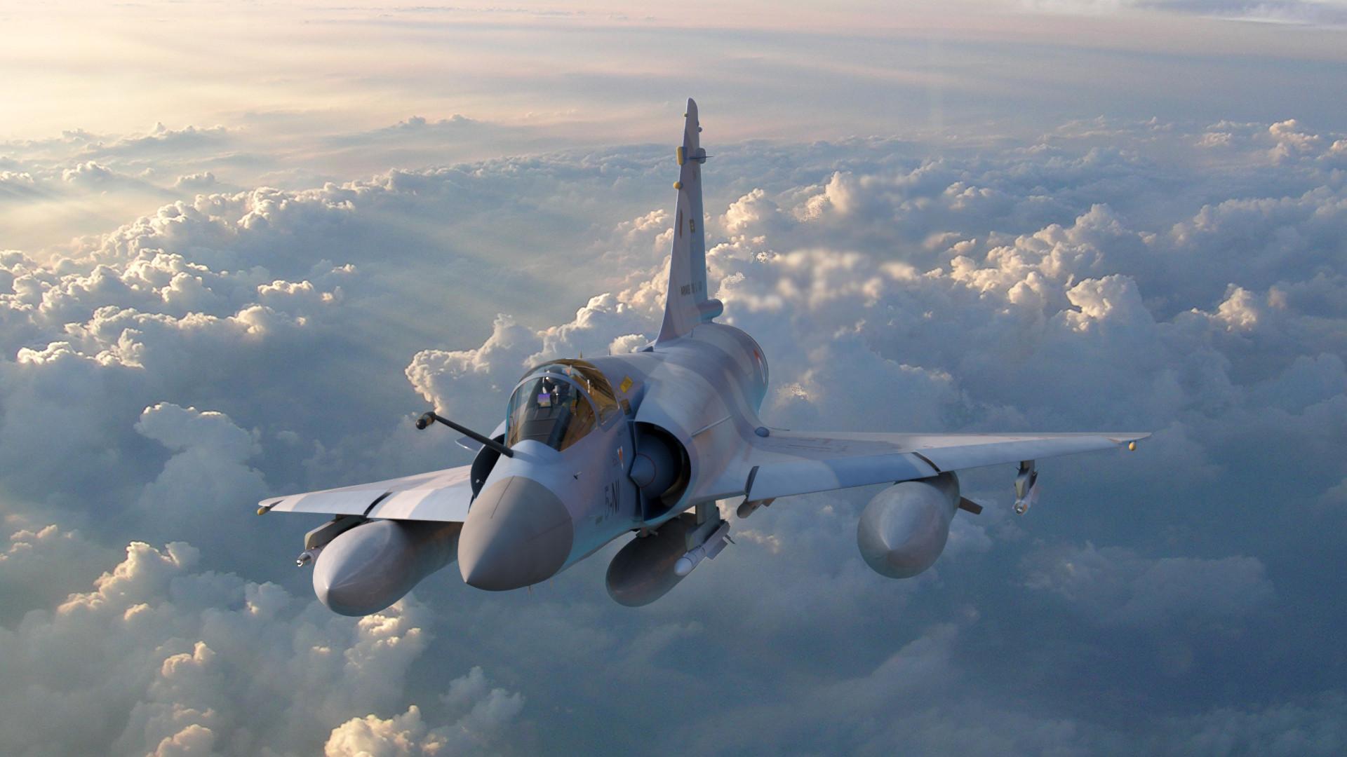 Artstation Mirage 2000 Anton Swanepoel