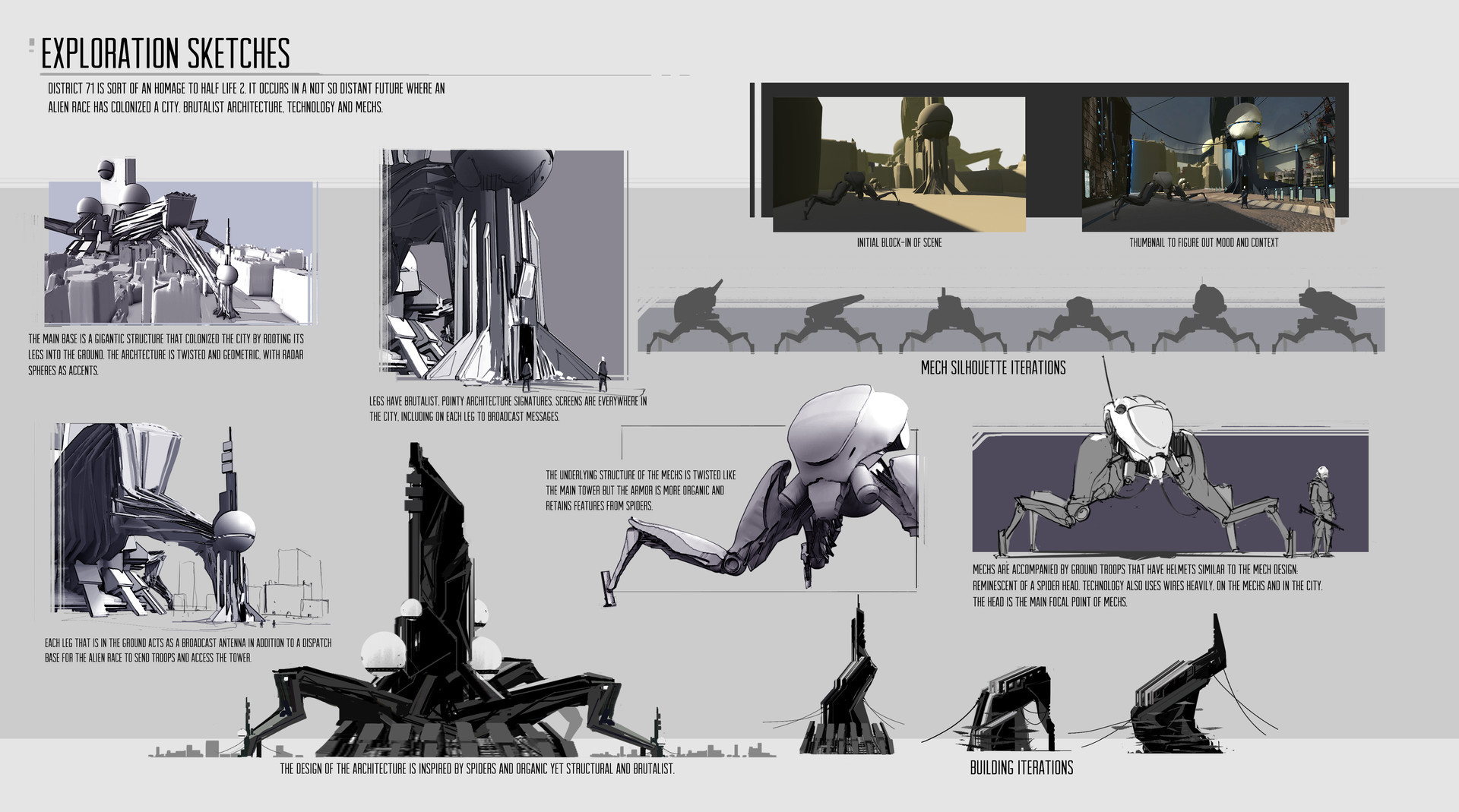 David fortin exploration sketches davidfortin