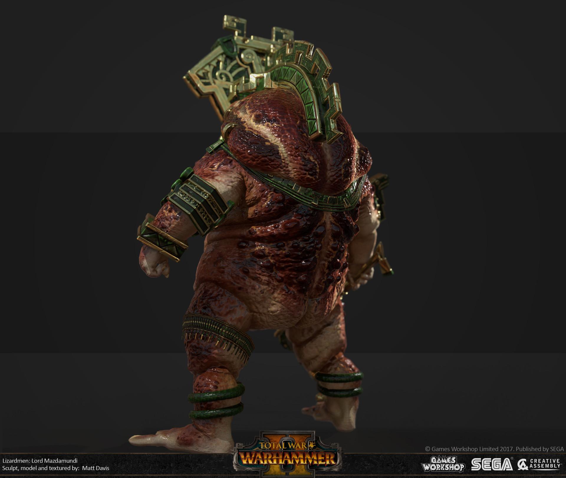 Matthew Davis Total War Warhammer 2 Lord Mazdamundi