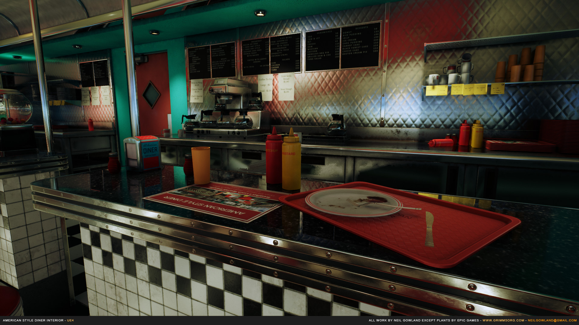 Neil gowland americanstylediner screenshot 08