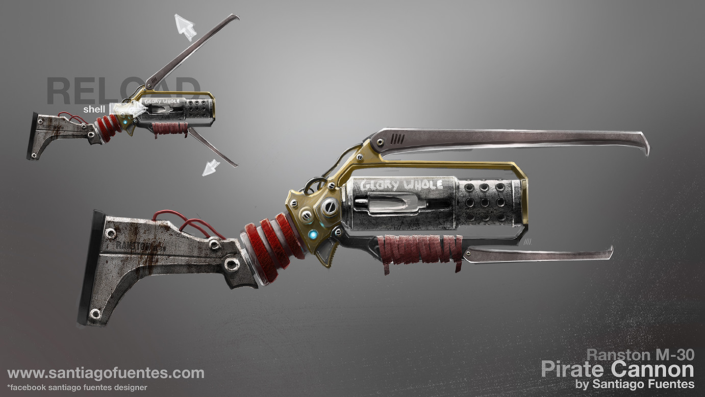 Santiago fuentes pirate weapon