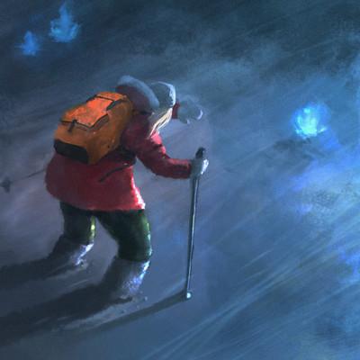Art ankhn winter heart