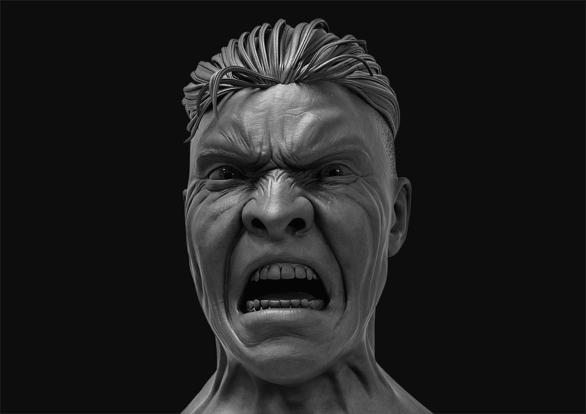 Anger - Male