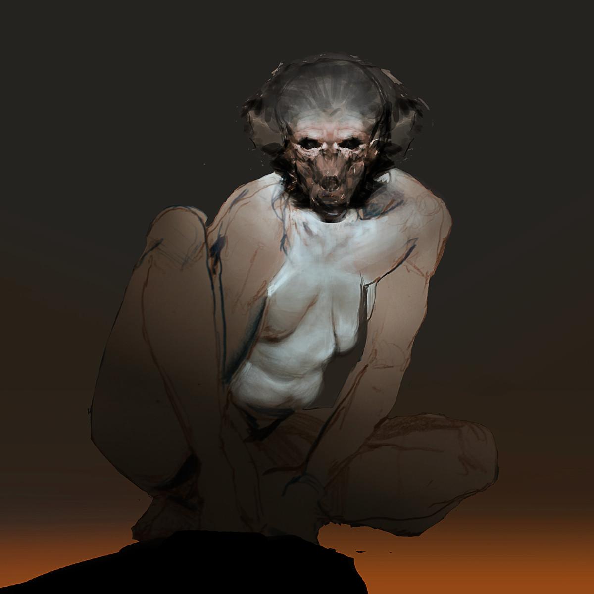Jeff simpson monkey sketch