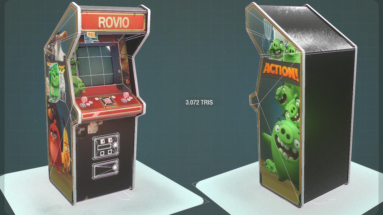 Rovio's Arcade Machine