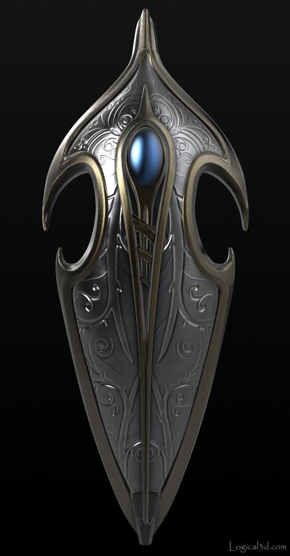 Greg Cox Elven Shield Lotr Fan Art