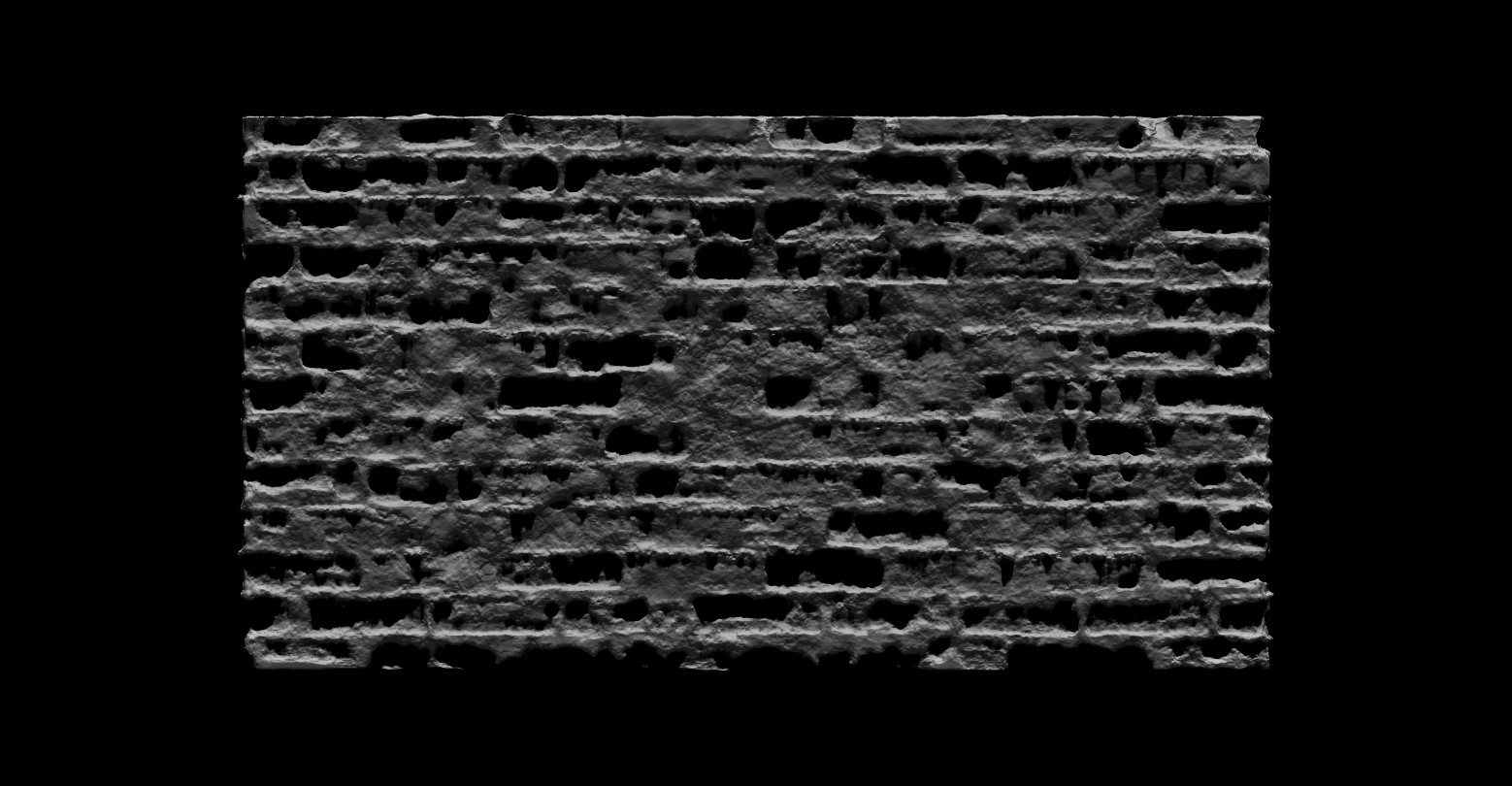 Bela csampai brick wall 01 render zb 03