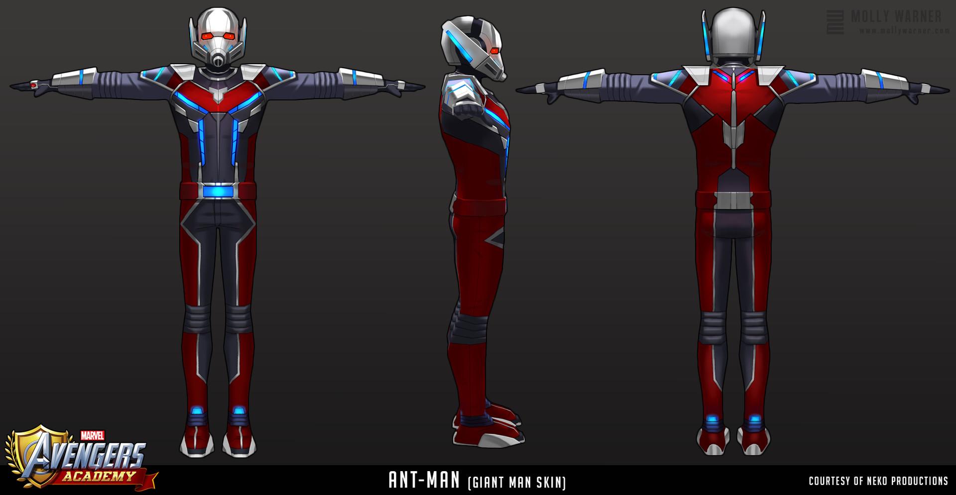 Molly warner 15 avengers academy antman s1