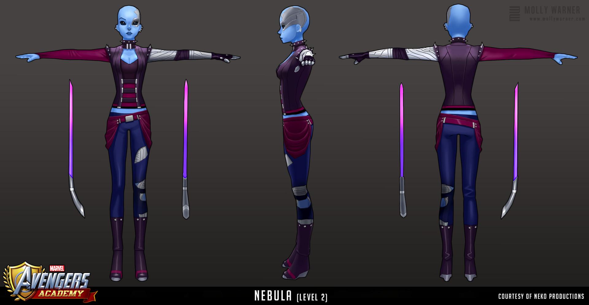 Molly warner 16 avengers academy nebula l2