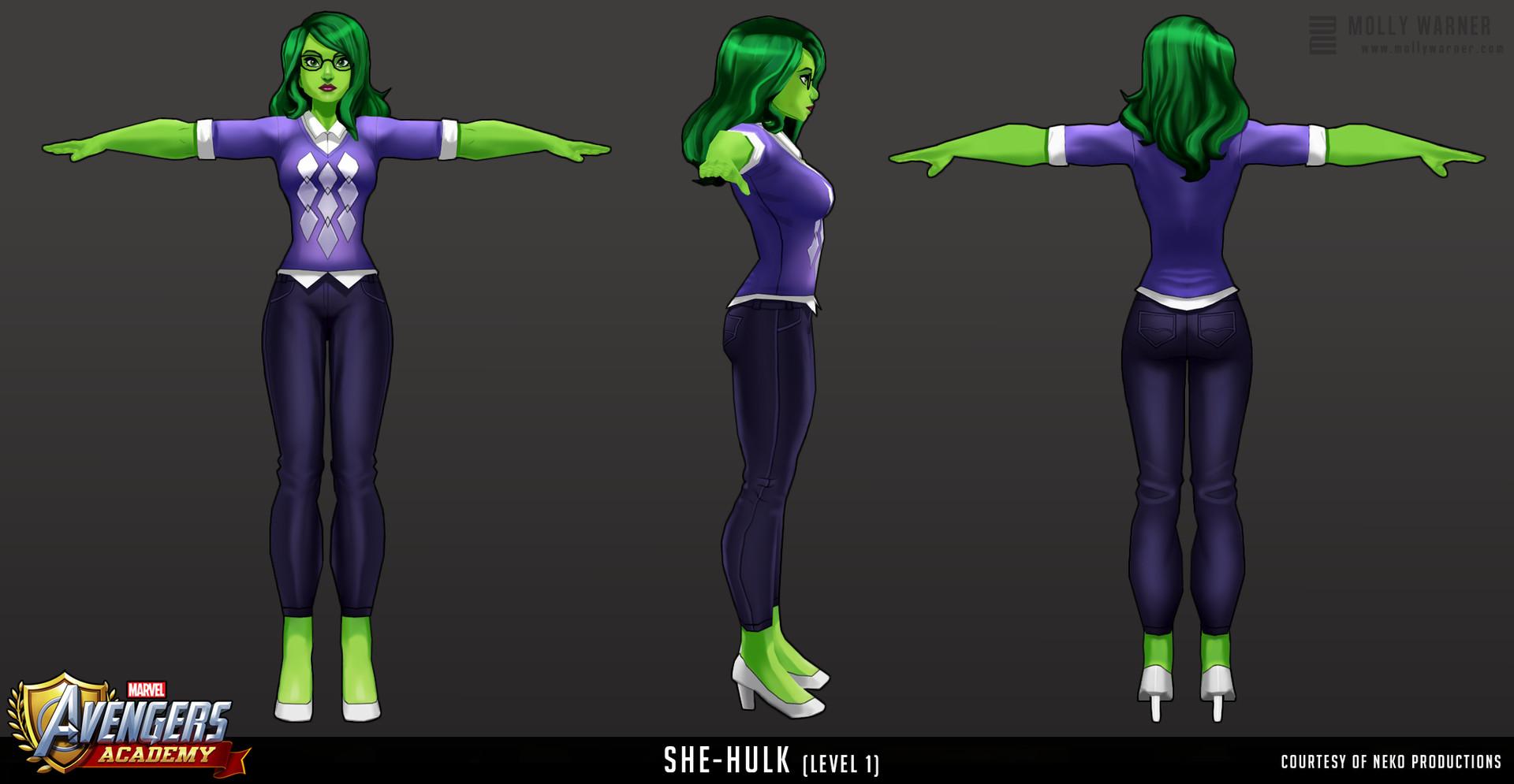 Molly warner 19 avengers academy she hulk l1