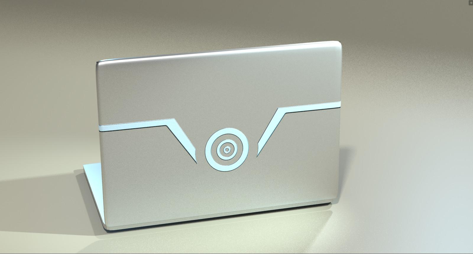 Original Laptop - w/ original Logo (Vortex Solutions)