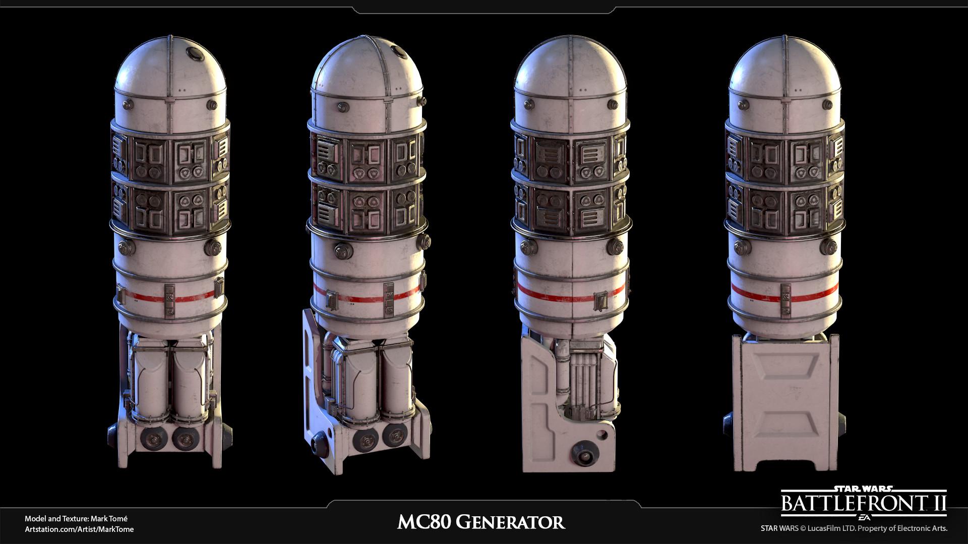 ArtStation - MC80 Generator, Mark Tomé