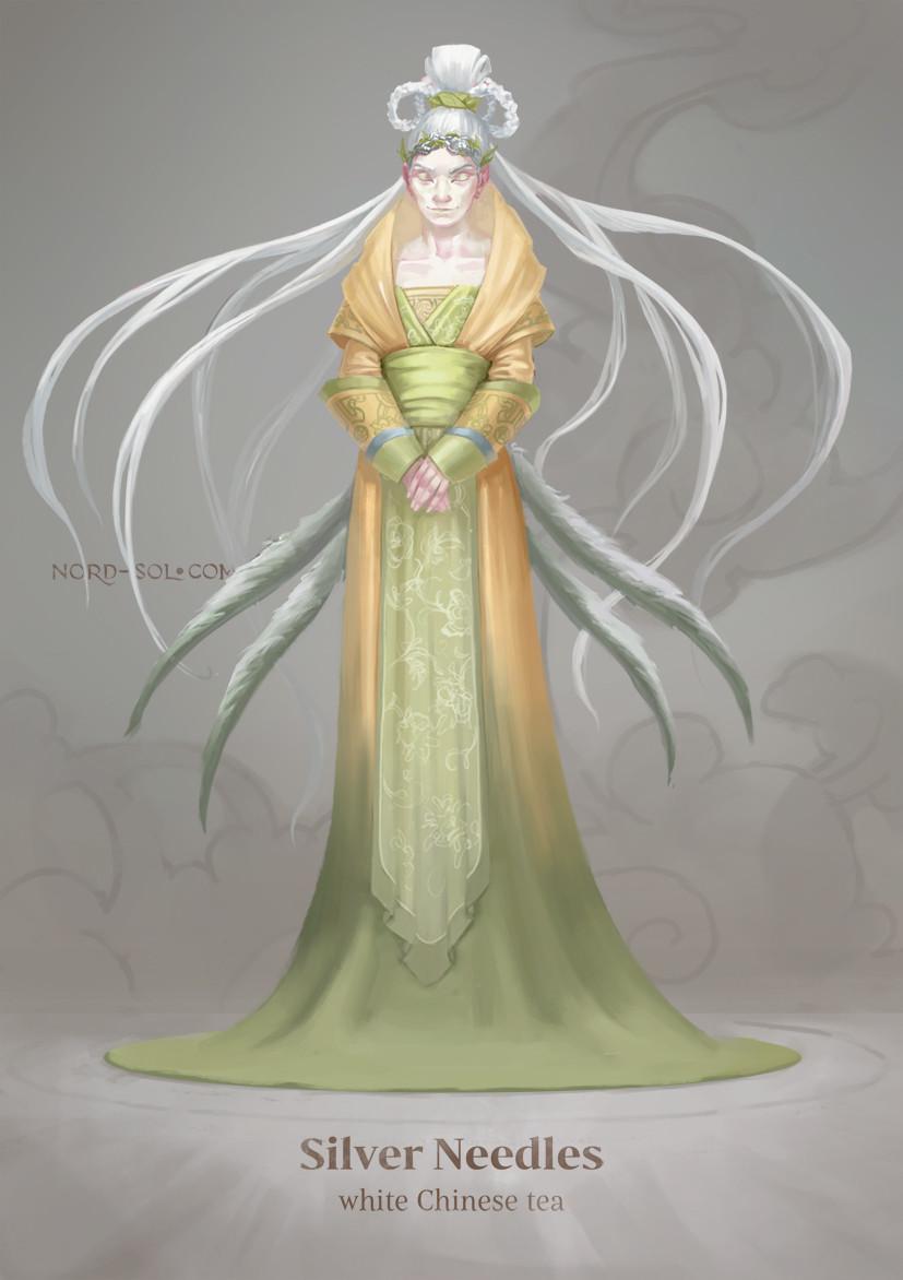 Irina nordsol kuzmina silver needles nordsol