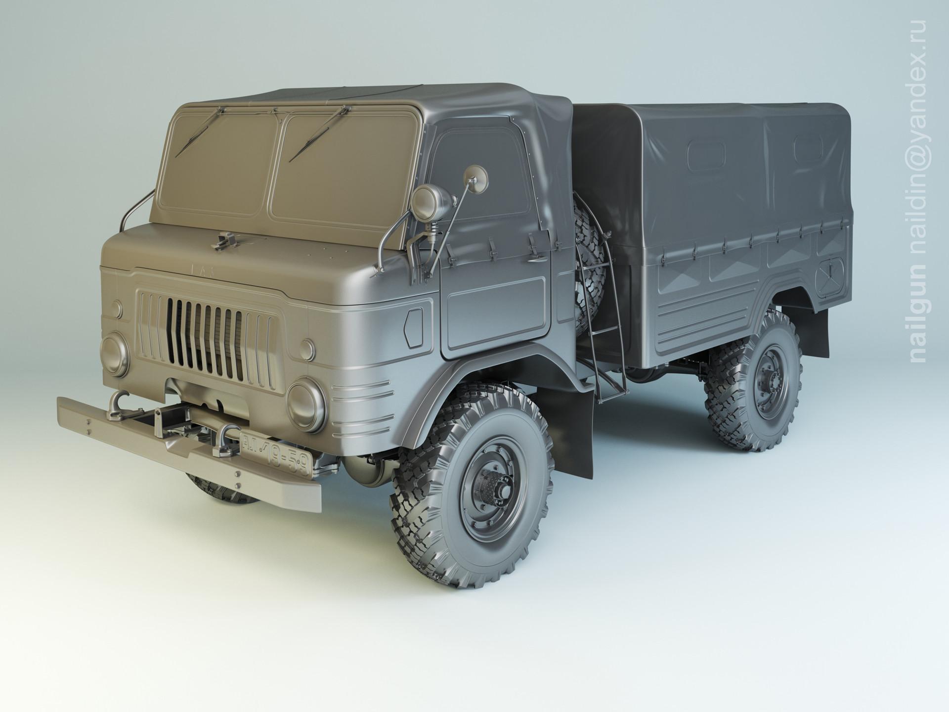 Nail khusnutdinov 008 gaz 62 modelling 0